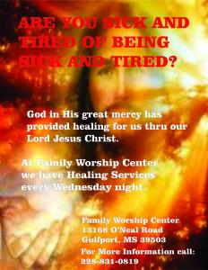 Healing Advertisement 2