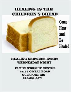 Healing Childrens Bread